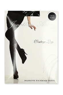JONATHAN ASTON Crystal back-seam tights