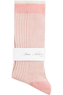 JONATHAN ASTON Buttercup ribbed socks
