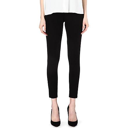SPANX Ready-to-Wow woven-twill leggings (Black
