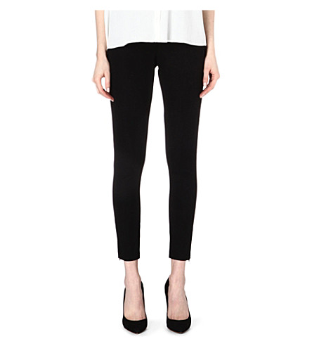 SPANX Ready-to-Wow woven-twill leggings (Black