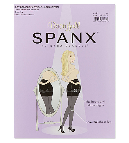 SPANX Sheer bootyfull control tights (Nude