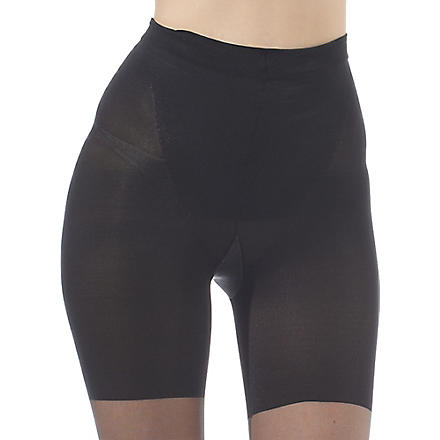 SPANX In Power Super Shaping sheer tights (Black