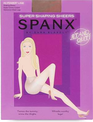 SPANX In Power Super Shaping sheer tights