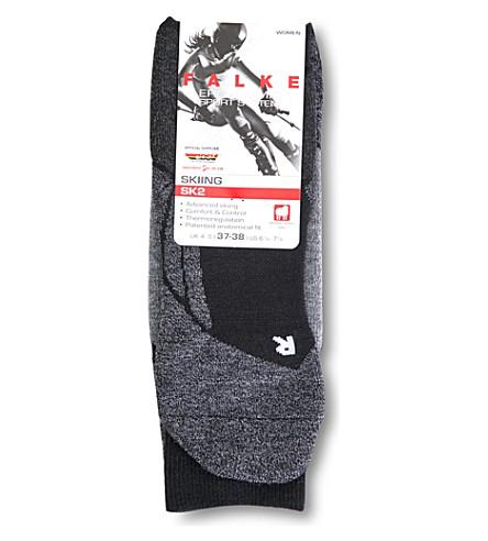 FALKE ERGONOMIC SPORT SYSTEM Ergonomic Sport System thermoregulated ski socks (3010+black+mix