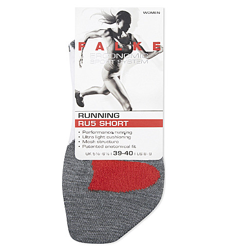 FALKE ERGONOMIC SPORT SYSTEM RU5 cushioned mesh socks (2020+white+mix