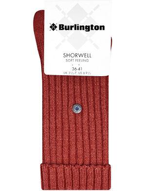 BURLINGTON Shorwell soft feeling socks