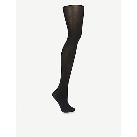 FALKE Cotton touch tights (Black