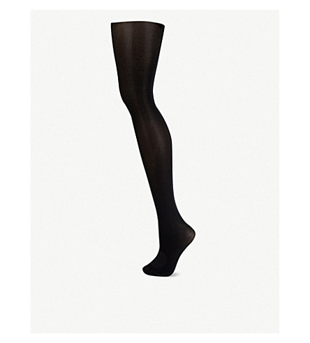 FALKE Pure matt 50 pantyhose (Black