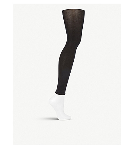FALKE Cotton touch leggings (Black+-+1