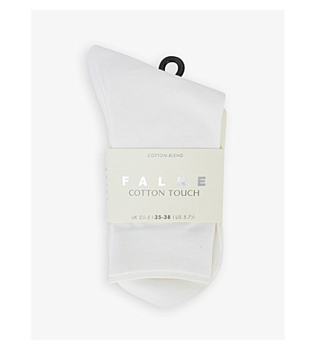 FALKE Cotton Touch socks (White