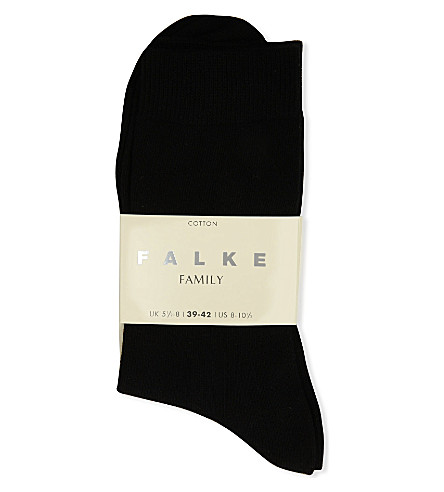 FALKE Family socks (Black