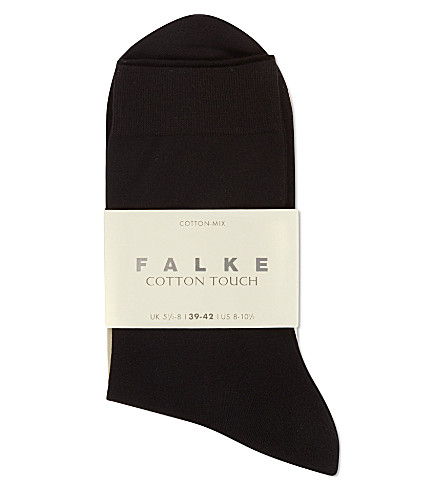 FALKE Cotton touch tights (3009+black