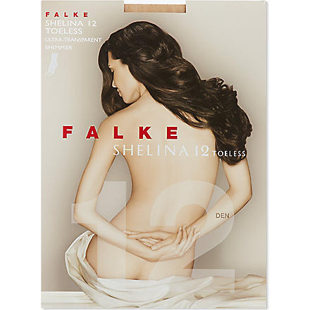 FALKE Shelina Toeless tights (Powder