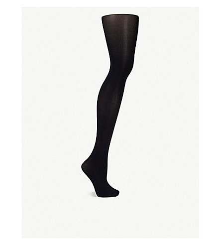 FALKE Pure Matt 50 denier tights (6179+marine