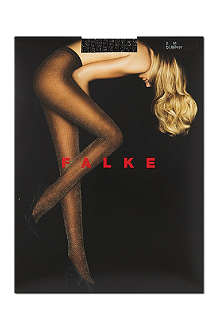 FALKE Ribbed glitter tights