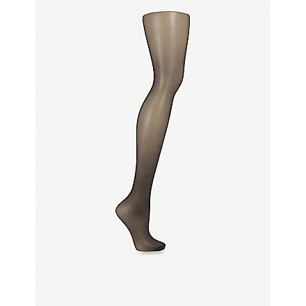 FALKE Pure shine 15 tights (Black