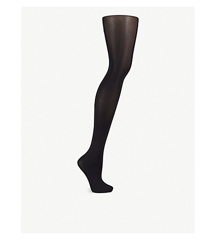 FALKE Pure Shine 40 denier tights (3009+black
