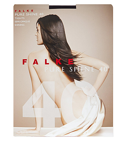 FALKE Pure Shine 40 denier tights (6179+marine