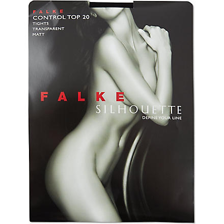 FALKE Silhouette control tights (Black