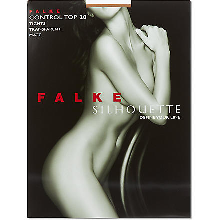 FALKE Silhouette control tights (Powder