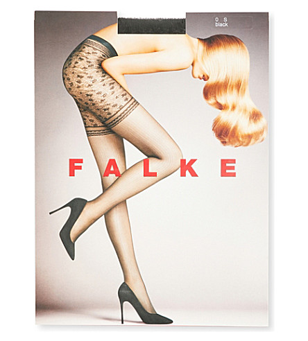 FALKE Bonton 20 denier tights (3009+black