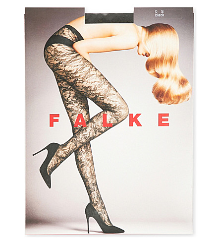 FALKE Bustier 30 denier tights (3009+black