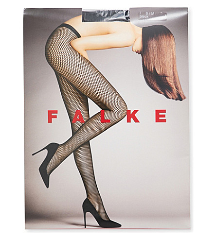 FALKE Autumn Basket tights (3009+black