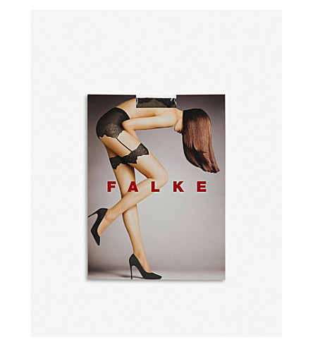 FALKE Holy Glam stocking-effect tights (4169+powder