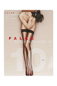 FALKE Fond de Poudre 10 denier stockings
