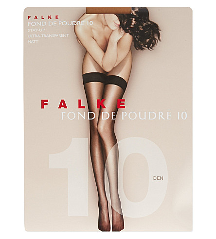 FALKE Fond de Poudre 10 denier stockings (4679+brasil+new