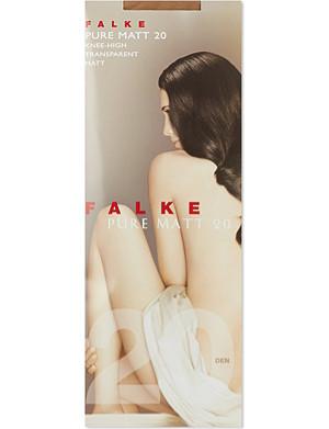 FALKE Pure matt 20 knee high tights