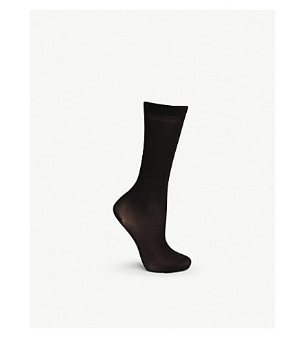 FALKE Vitalize 40 denier knee-high tights (3009+black