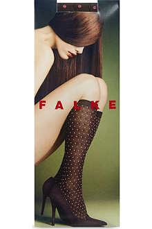 FALKE Tie dot knee high