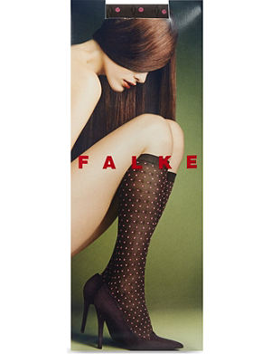 FALKE Tie dot knee high