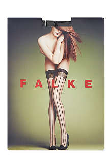 FALKE Strap-couture stay ups