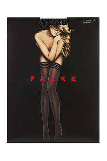 FALKE Ribbed glitter hold-ups