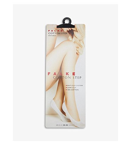 FALKE Cotton Step socks (Powder
