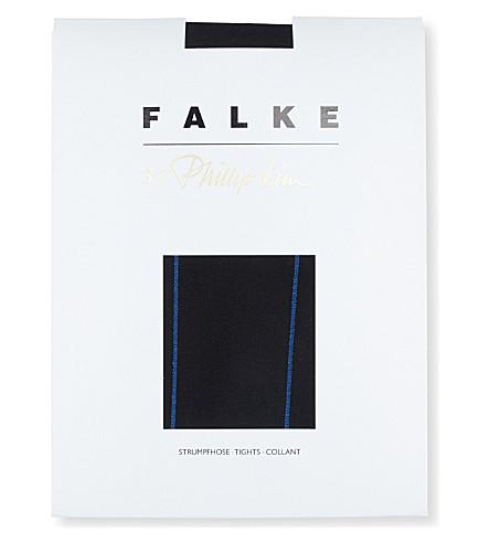 FALKE Phillip Lim wool silk tights (3009+black