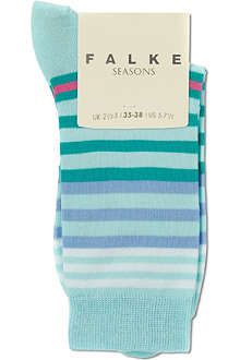 FALKE Striped socks