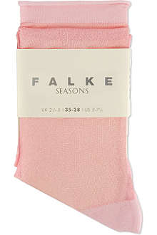 FALKE Glitter striped socks