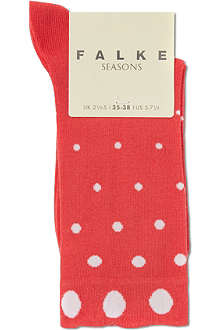FALKE Degradee dots socks