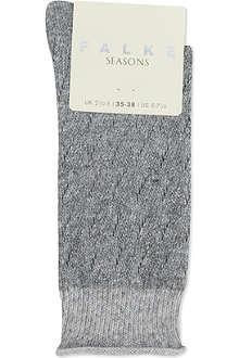 FALKE Soft Ajour socks