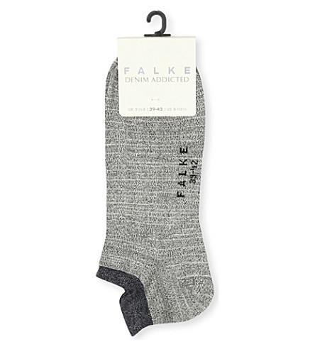 FALKE Denim trainer socks (3000+black