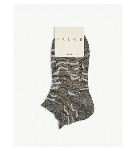 FALKE Trullo cotton-blend trainer socks (3210+flanell