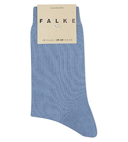 FALKE No 1 cashmere socks (6080+cloud