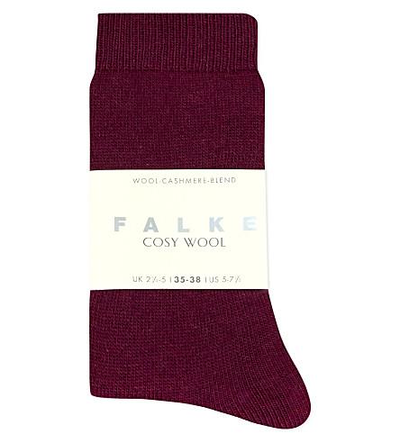 FALKE Cosy Wool socks (8711 grape