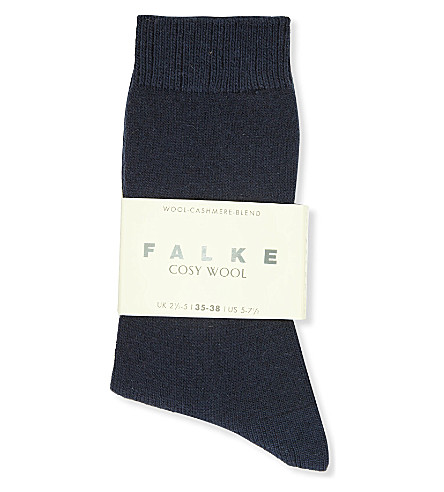 FALKE Cosy wool-cashmere socks (3365 artctic