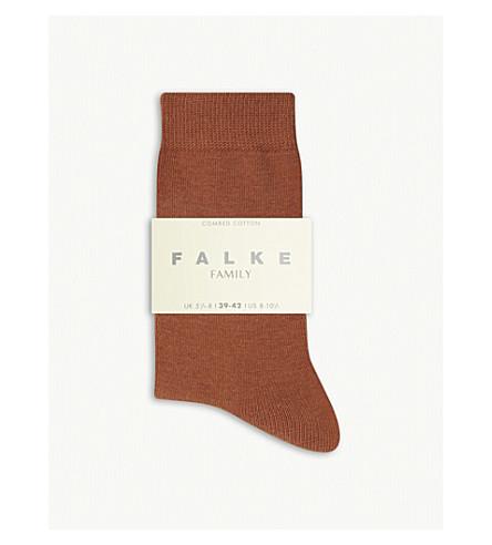 FALKE Family cotton-blend ankle socks (5225+rosewood