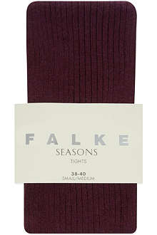 FALKE Striggings rib knit tights