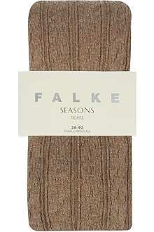 FALKE Striggings cable knit tight